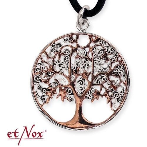 """etNox-Anhänger """"Lebensbaum"""" Bronze teilversilbert"""