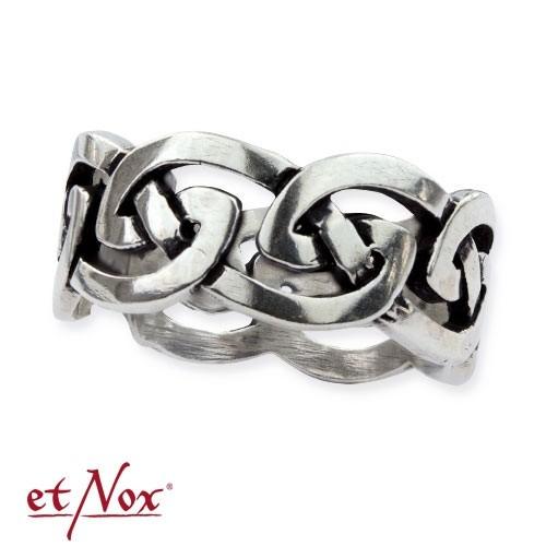 """etNox-Ring """"Keltischer Knoten"""" 925 Silber"""