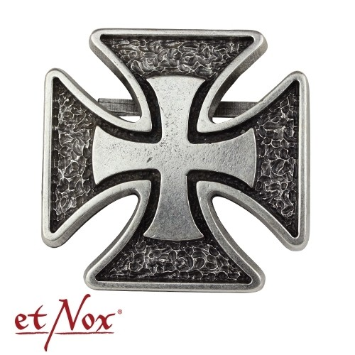 "etNox - Gürtelschnalle ""Iron Cross"""