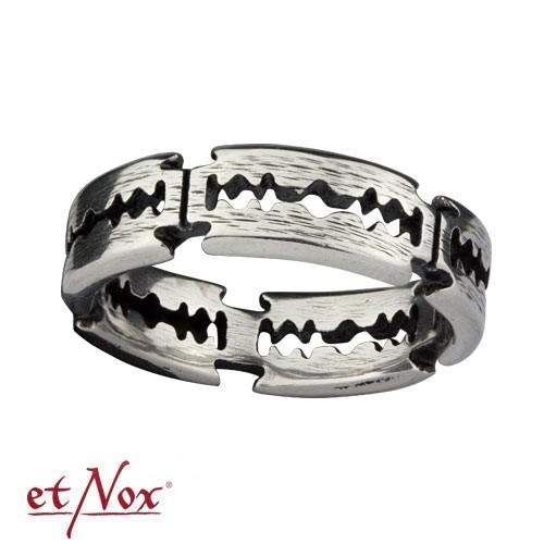 """etNox - Ring """"Rasierklinge"""" Edelstahl"""