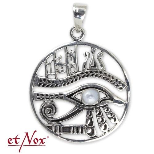 """etNox-Anhänger """"Auge des Horus"""" 925er Silber"""