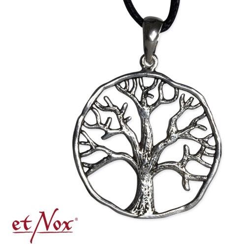 "etNox - Anhänger ""Lebensbaum"" 925 Silber"