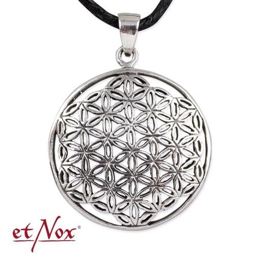 "etNox-Anhänger ""Blume des Lebens"" 925 Silber"