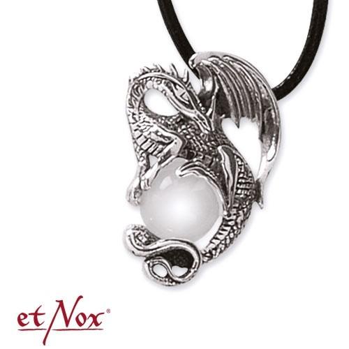 """etNox-Anhänger """"crystal dragon"""" 925 Silber"""