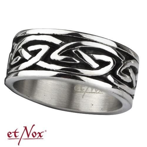 """etNox Edelstahlring """"keltisches Design"""""""