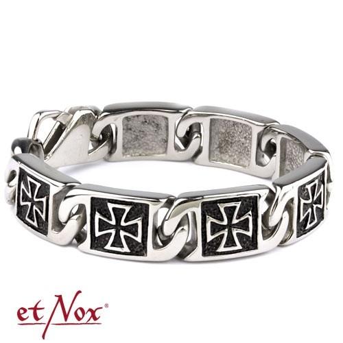 """etNox - Armband """"Iron Cross"""" Edelstahl"""