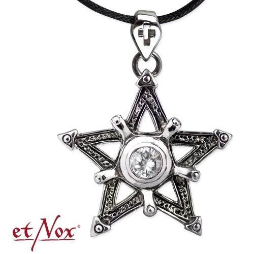 """etNox-Anhänger """"Big Pentagramm"""" Edelstahl"""