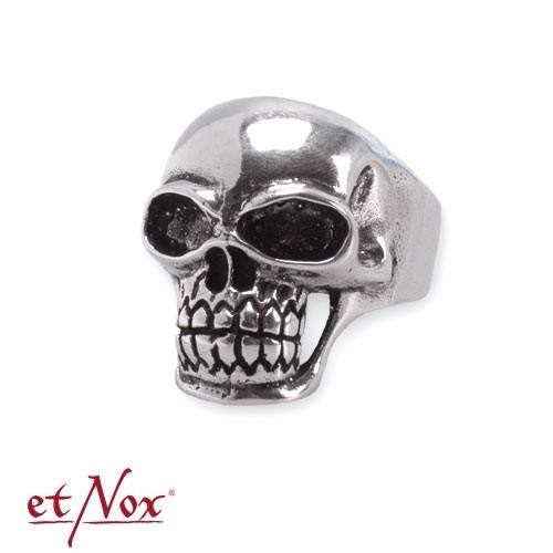 "etNox - Ring ""Totenkopf"" 925 Silber"