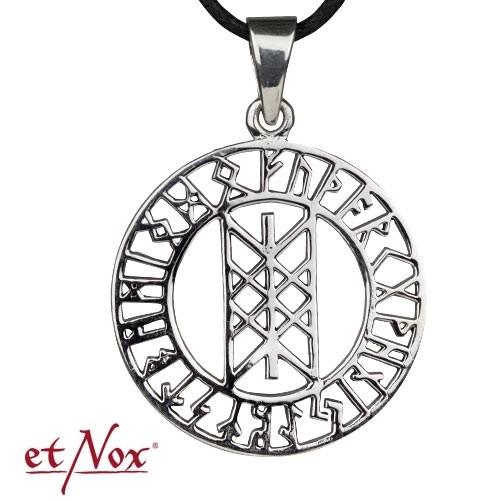"""etNox-Anhänger """"Runenkreis"""" 925 Silber"""