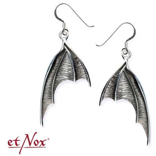 "etNox-Ohrringe ""Bat Wings"" 925er Silber"