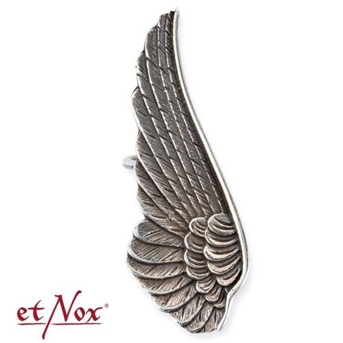 "etNox - Silberohrklemme ""Flügel"""
