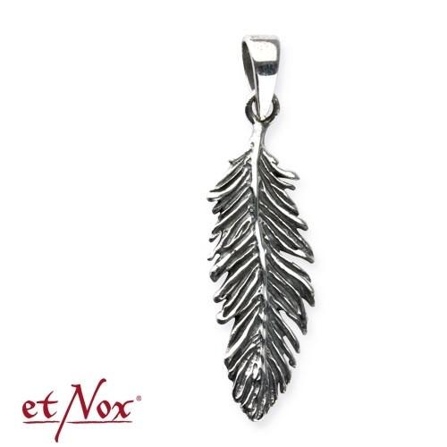 "etNox - Anhänger ""Feder"" 925 Silber"