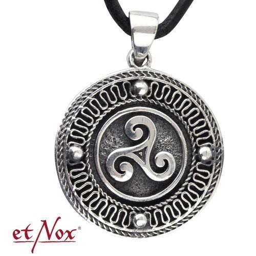"""etNox-Anhänger """"Keltische Triskele"""" 925 Silber"""