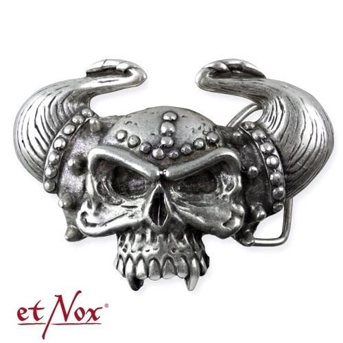 "etNox - Gürtelschnalle ""Viking Skull"""