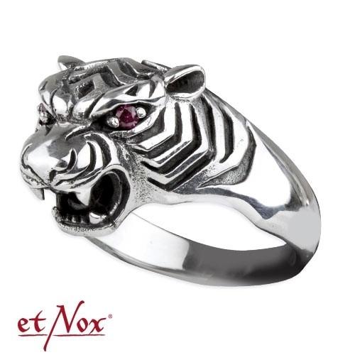 """etNox - Ring """"Tiger"""" 925 Silber"""