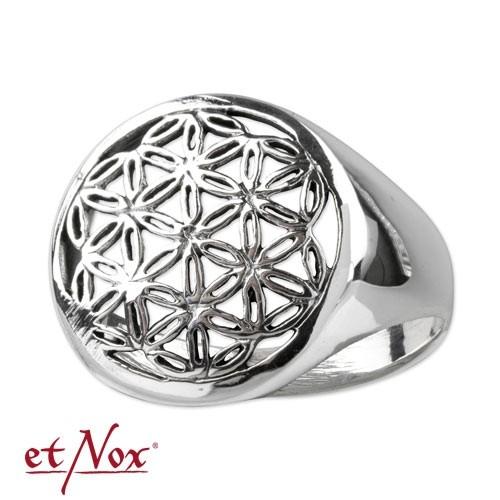 """etNox-Ring """"Blume des Lebens"""" 925 Silber"""