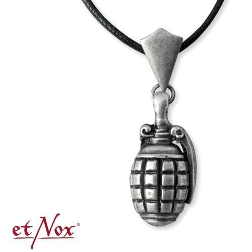 "etNox-Anhänger ""Hand Grenade"" Zinklegierung"