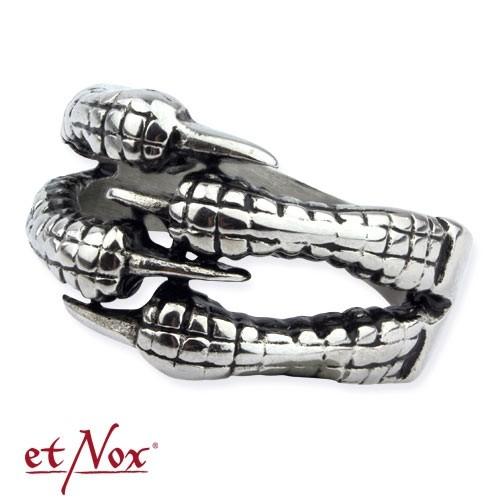 """etNox - Ring """"Claw"""" Edelstahl"""