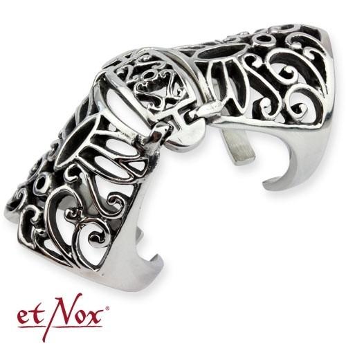 """etNox - Ring """"Armour Finger"""" Edelstahl"""