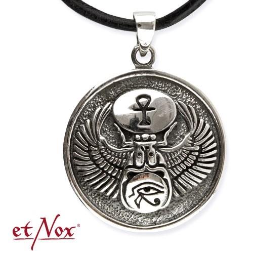 """etNox - Anhänger """"Ägypitsche Trilogie"""" 925 Silber"""