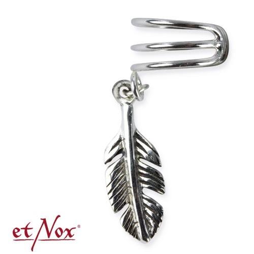 "etNox-Ohrklemme ""Feather"" 925 Silber"