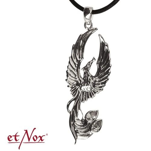 """etNox-Anhänger """"Phönix"""" 925 Silber"""