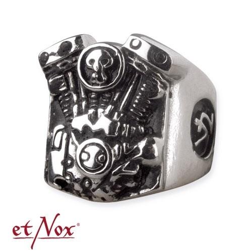 """etNox - Ring """"Shovelhead"""" Edelstahl"""