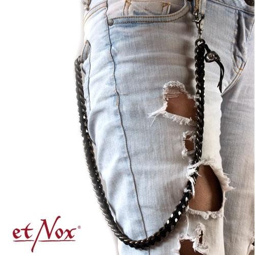 "etNox Schlüssel- oder Portemonnai-Kette ""Skull"""