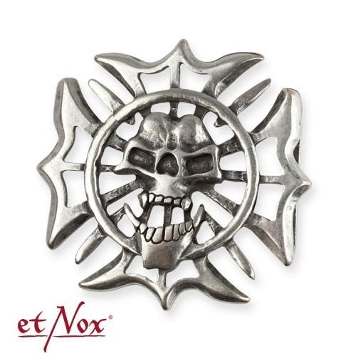 "etNox - Gürtelschnalle ""Iron Skull"""