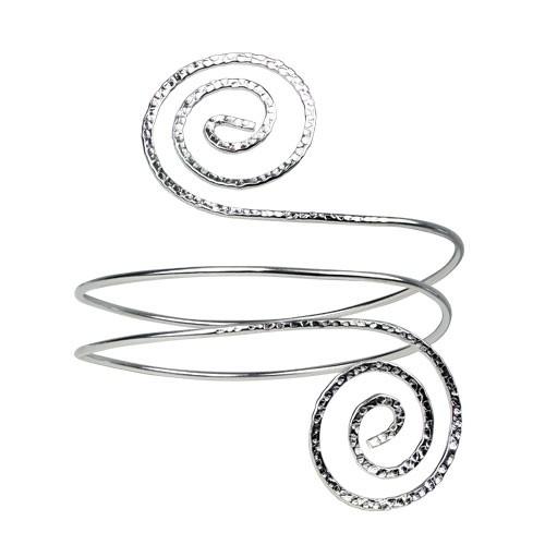 "etNox Oberarmreif ""Spirale"" Bronze versilbert"