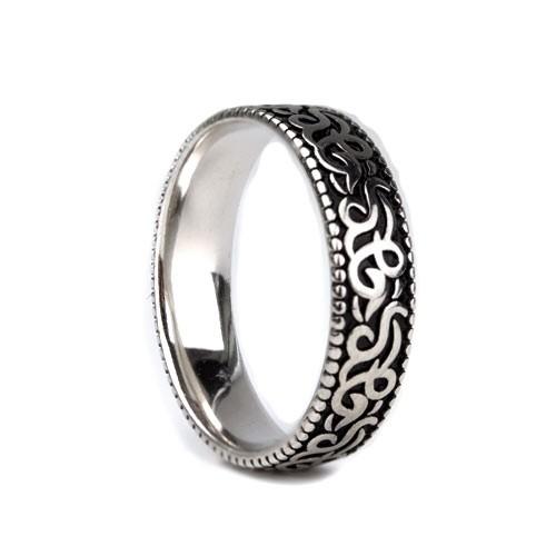 """etNox - Ring """"Linien"""" 925 Silber"""