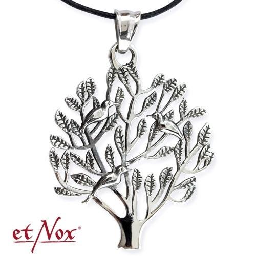"etNox - Anhänger ""Lebensbaum"" Edelstahl"