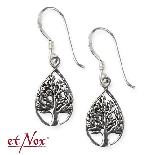 "etNox-Ohrstecker ""Lebensbaum"" 925 Silber"