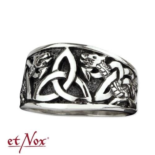 """etNox - Silberring """"Keltische Knoten"""""""