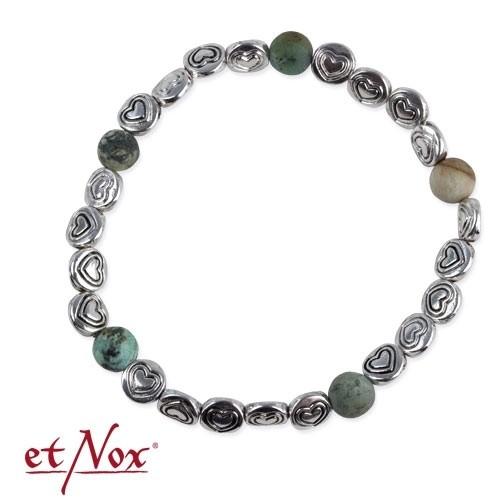 etNox - Armband mit echten Steinen