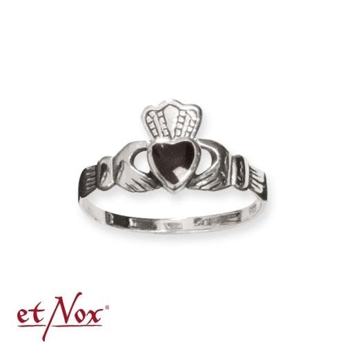 """etNox-Ring """"Claddagh"""" 925 Silber"""
