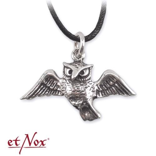 """etNox-Anhänger """"Eule"""" 925 Sterling Silber"""