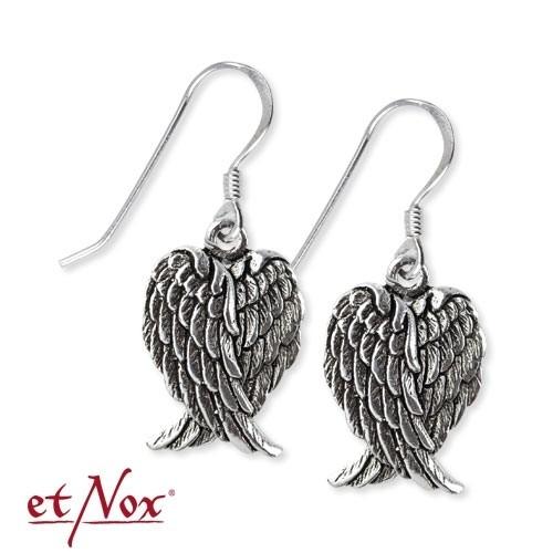 "etNox-Ohrringe ""Flügel"" 925er Silber"