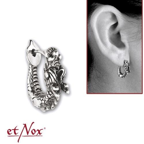 "etNox - Ohrring ""Silver Dragon"" 925 Silber (1 Stück)"