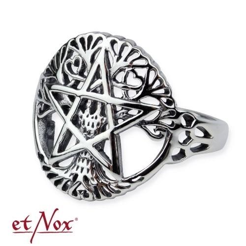 """etNox - Ring """"Lebensbaum"""" 925er Silber"""