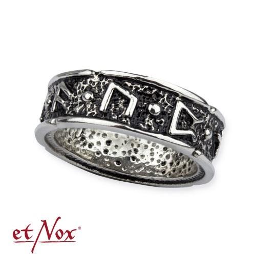 """etNox-Ring """"Draupnir"""" Edelstahl"""