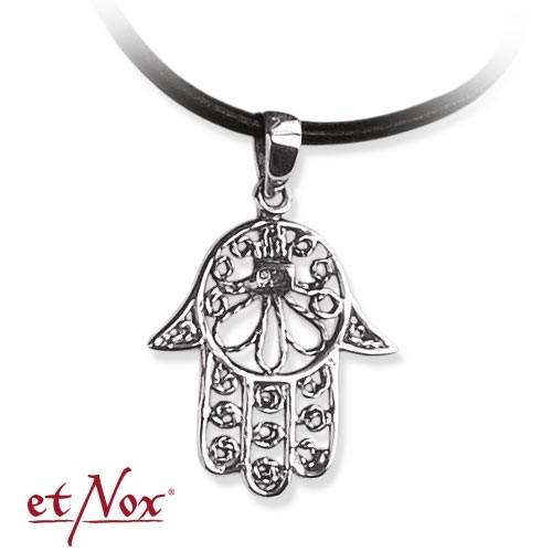 """etNox - Anhänger """"Fatimahs Hand"""" 925 Silber"""