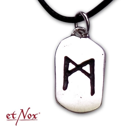 "etNox-Anhänger ""MAN-Rune"" 925 Silber"