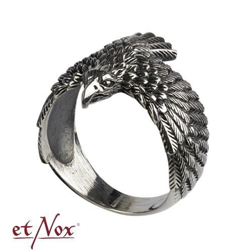 """etNox - Ring """"Adler"""" 925 Silber"""