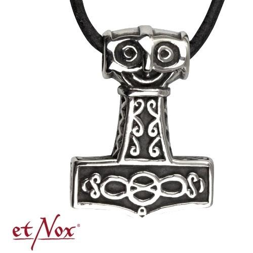 """etNox-Anhänger """"Thors Hammer"""" Edelstahl"""