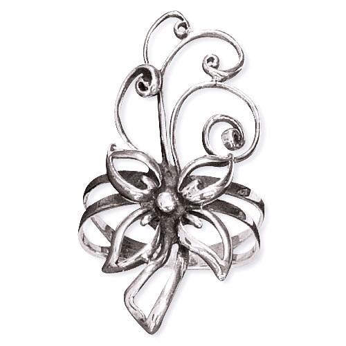 """Silberring """"Flower"""""""