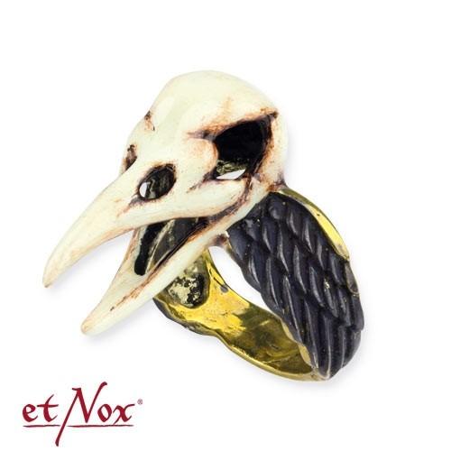 """etNox - Ring """"Crow Skull"""""""