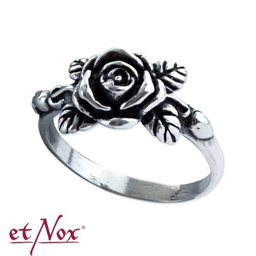 """etNox - Ring """"Rose"""" 925 Silber"""