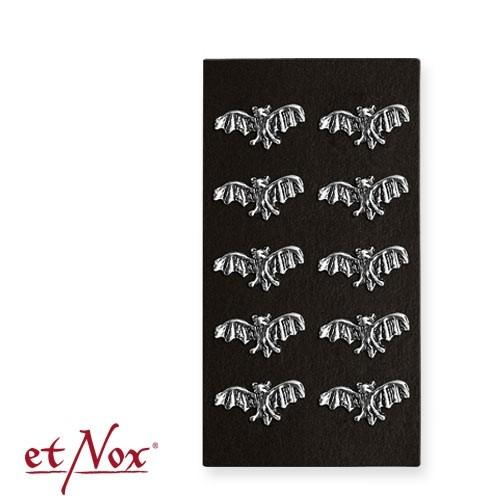 "etNox - Ohrstecker ""Fledermaus"" 925 Silber"