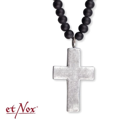 "etNox - Kette ""Dirty Cross"""